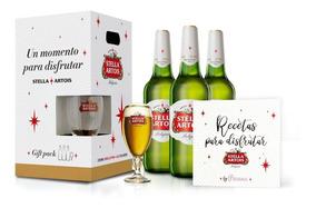 Pack Stella Artois Día De La Madre 3lts + Copa + Recetario