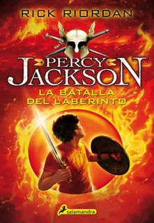 Percy Jackson 4 La Batalla Del Laberinto - Riordan