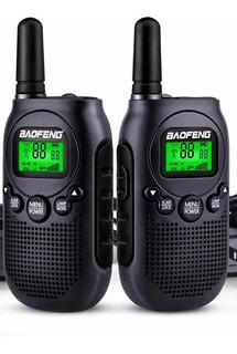 2 Handy Walkie Talkie Baofeng T6 20 Millas+auric.m/libres !