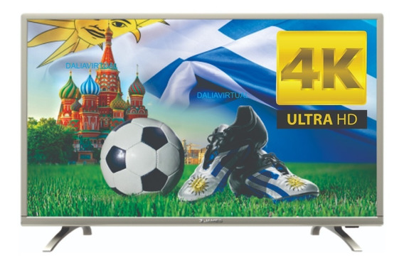 Tv Led Smart James 49 4k Uhd Netflix Hdmi Ultra Hd