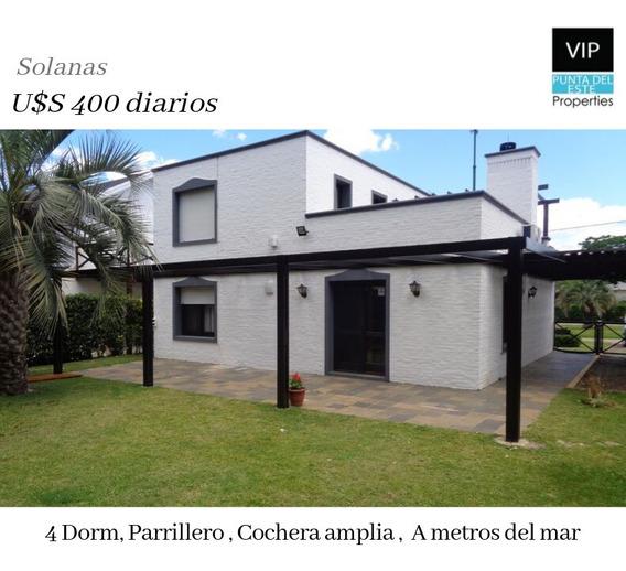 Casa En Alquiler Solanas