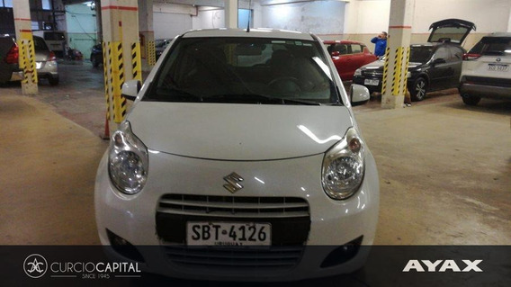 Suzuki Celerio Glx 2014 Blanco Excelente Estado