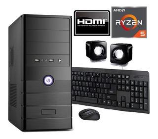 Pc Gamer Ryzen 5 8gb 1tb Gráficos Vega 11 Hdmi Techstore