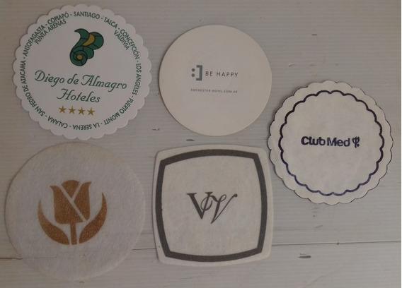 Posavasos Papel Carton Fino Varios Hoteles Club Med C/u