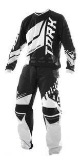 Conjunto Motocross Pro Tork Factory Edition Negro/blanco