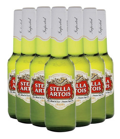 Promo Cerveza Stella Artois Caja De 24 Unidades 330ml