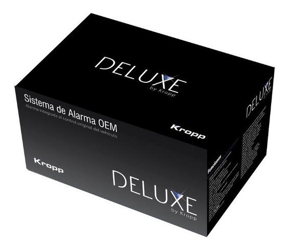 Alarma Auto Deluxe Volumétrica Dos Controles Y 2 Bloqueos