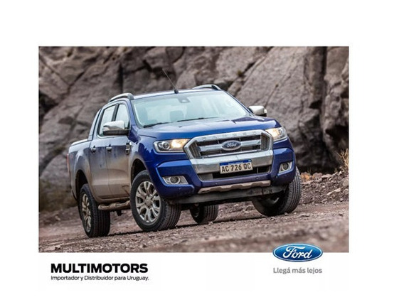 Ford Ranger Limited 3.2 At - 4x4 - 200cv. Entrega Inmediata.