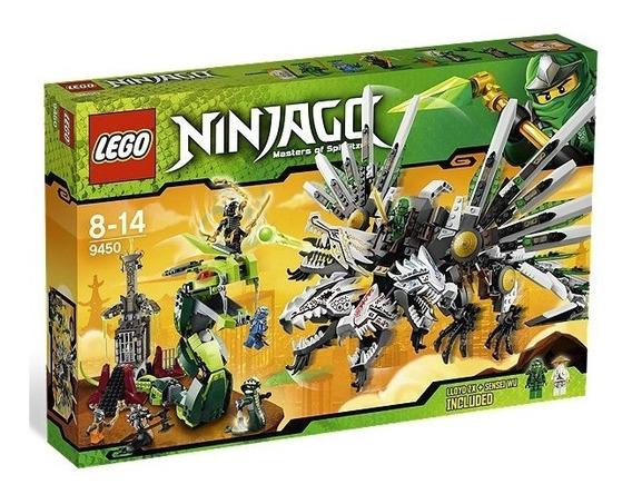 Lego Ninjago 9450 Batalla Del Dragon 915 Piezas Original