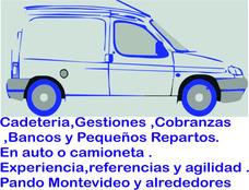 Cadeteria , Gestiones , Cobranzas Y Pequeños Repartos.
