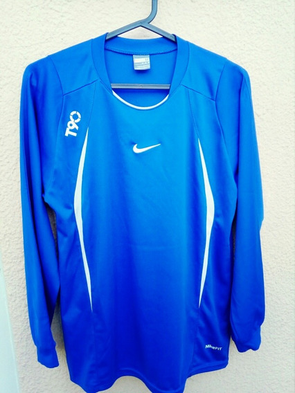 Remera Nike Training Manga Larga