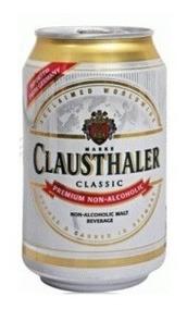 Cerveza Clausthaler Sin Alcohol Lata 330 Ml