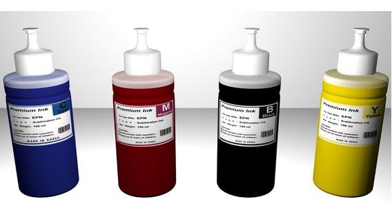 Tintas Sublimación / Sublimar Para Epson. Koreana. 100ml C.u