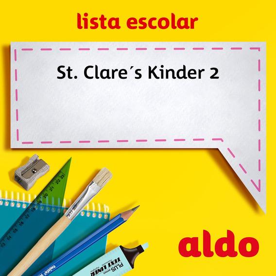 Lista Escolar St. Clare´s Kinder 2