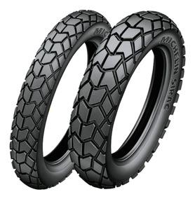 Oferta!! Neum. De Moto Michelin 80/100-14 Sirac Street Tt
