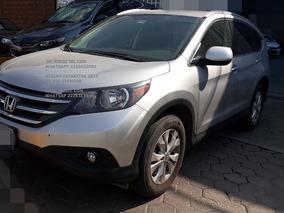 Honda Cr-v 4 Cil 2014 Automatica 2.4 Lts*hay Credito
