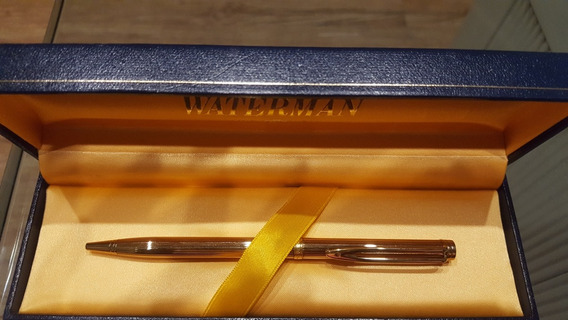 Liquido Lapicera Waterman Paris Nueva Impecable