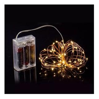 Guia De Mini Luces Led X20 2m Decoración Luciérnagas A Pila