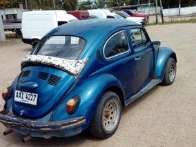 Volkswagen Fusca 80 Modelo 1.3 Un Carburador !