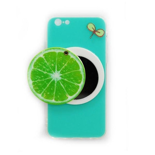 Protector Funda Espejo iPhone 8 7 Plus Limon Carcasa