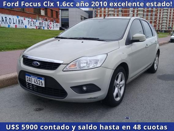 Ford Focus Clx 1.6cc Extrafull 2010 Excelente Estado General