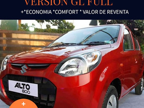 Suzuki Alto 800 0 Km / Gl Full Reserve Su Unidad !