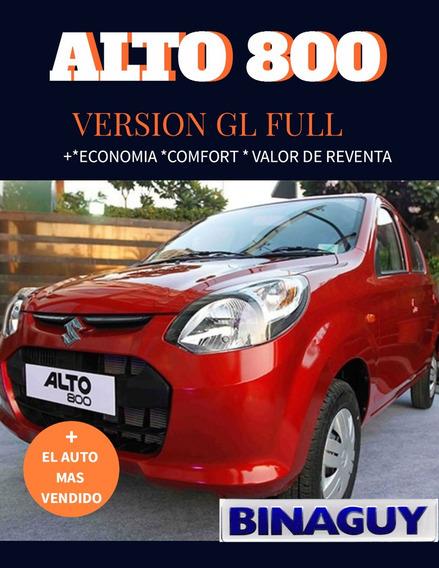 Suzuki Alto 800 0 Km / Gl Full / 2020 Reserve Su Unidad !