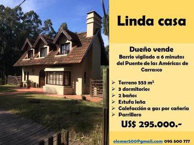 Linda Casa En Barrio Vigilado Quintas Del Bosqe