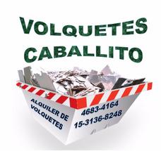 Alquiler De Volquetes Caballito, Flores, Liniers, Caba