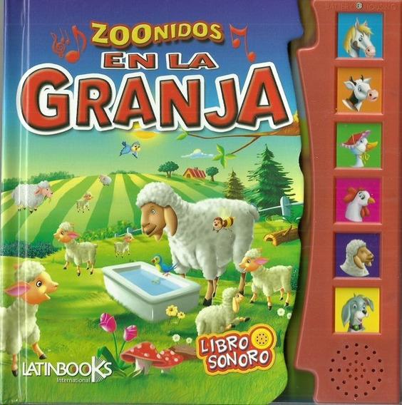 Libro Con Sonidos Animales De La Granja