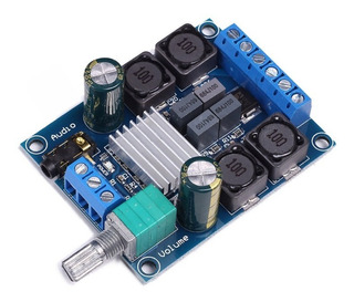 Amplificador Digital Clase D 50+50w Rms - Tpa3116d2