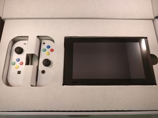 Blanco Nintendo Switch 32gb Sellado En Stock Con Factura.