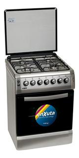 Cocina Enxuta 4 H A Gas Acero Inox 642s 3 Años Gtia Futuro21