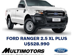 Ford Ranger 2018 .financiación & Leasing Tasa 0%