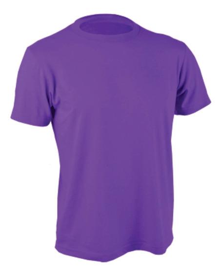 Camiseta Clásica Bordó Violeta Rojo - Camisetas.uy