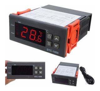 Termómetro Y Termostato Digital 220v - Frio O Calor Stc-1000