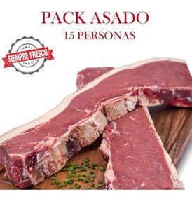 Pack P/15 Asado+riñon+chorizo+.. Premium - El Novillo Alegre