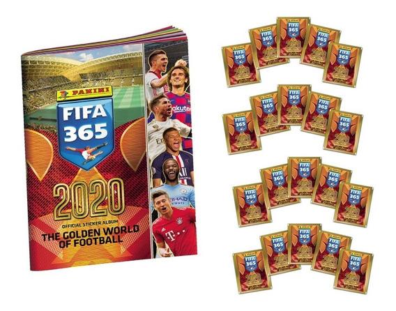 Panini Fifa 365 2020 - 20 Sobres + Album De Obsequio