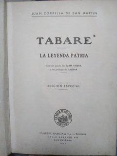 Tabaré Y La Leyenda Patria En Un Tomo (4)