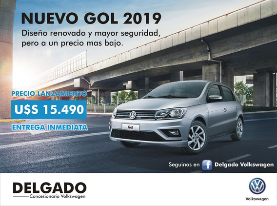 Volkswagen Gol 2020 Entrega Inmediata