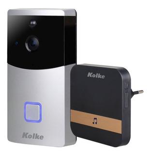 Timbre Smart Kolke Wifi Con Cámara Hd Visión Nocturna En Loi