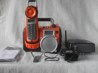 Telefono Inhalambrico Con Captor Y Radio Am Fm Para Taller
