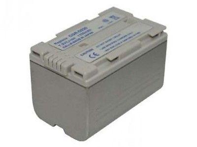 BATERIA para Panasonic cgr-d220 dz-mx5000 nv-c1 c7 d89 da1b