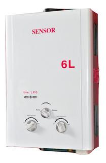 Calefon A Supergas 6 L/min T N Garantía 18 Meses. A Pilas
