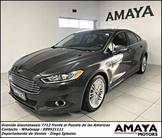 Ford Fusion Se A/t 2.0 240 Hp !! Amaya Motors