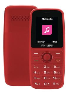 Telefono Celular De Teclas Philips E108
