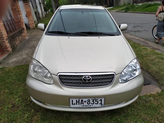 Toyota Corolla 1.6 4 Puertas Año 2007