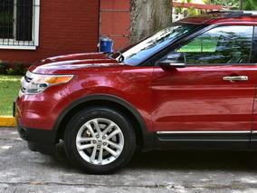 Ford Explorer Piel Dvd Xlt, Doble A/c 2014 68,000 Kms.