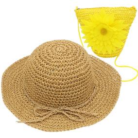 5941d9add40d9 Gorro De Sombrero Yopindo Conjunto Sombrero De Paja Sol G