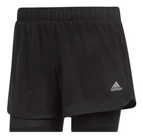 Short adidas Con Calza M10 De Dama Running
